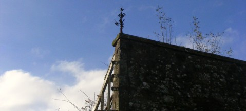 Old weather vane